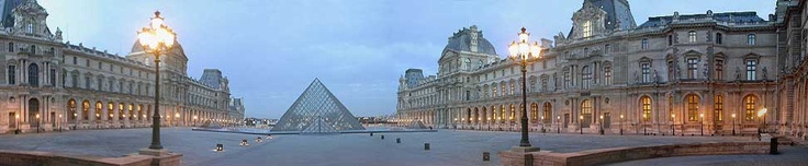 The Louvre in Paris, France