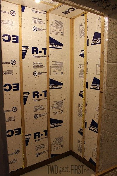 Insulating Basement Block Walls : Best insulating basement walls ideas on pinterest