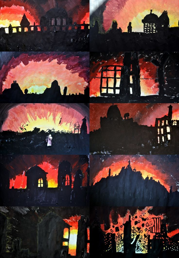 WW2 blitz art project ideas?