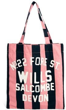 Jack Wills Book Bag - aww i used to always use this bag for school, love this its so pretty