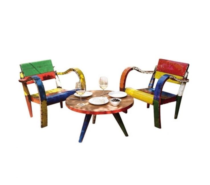 Kos Low Lounger Set (Timber Table Top) http://stylishoutdoors.com.au/kos-low-level-lounger-set_name=kos%20low%20lounger