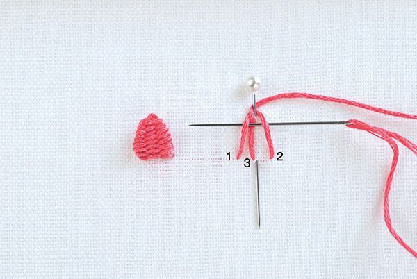 Picot Stitch embroidery