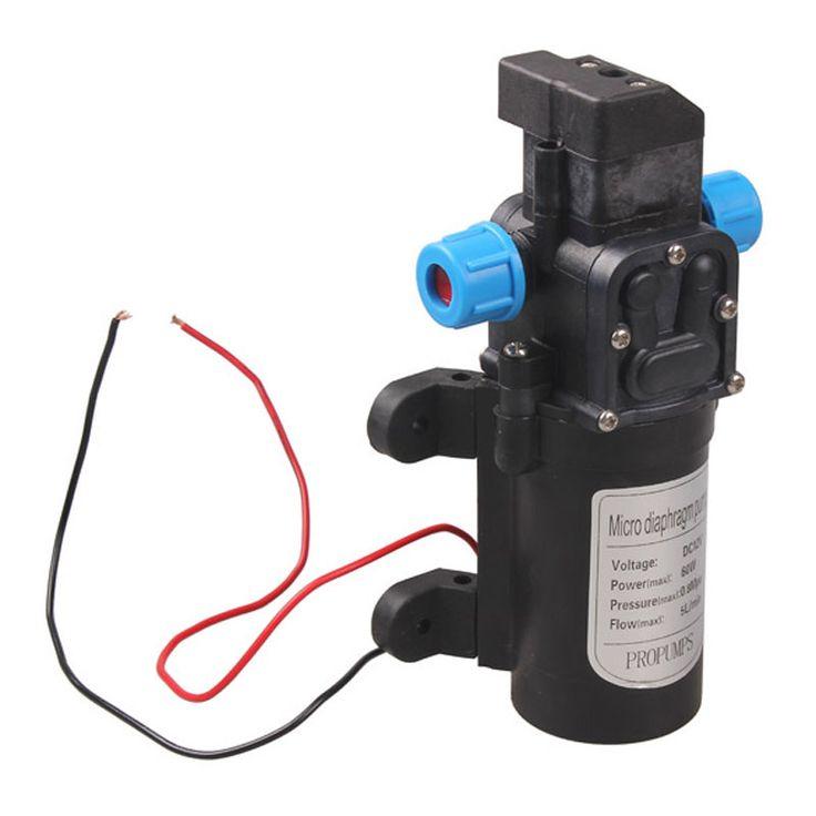 Pompa air Tekanan Tinggi Micro Diafragma Pompa Air DC 12 V 60 W Otomatis Beralih 5L/min FULI