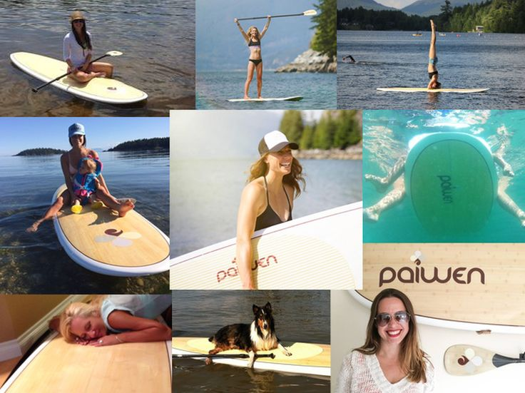 Paddleboard customers