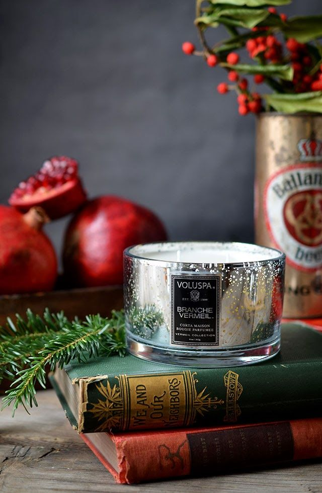 Heart of Gold: Scenting the Season with Voluspa Candles