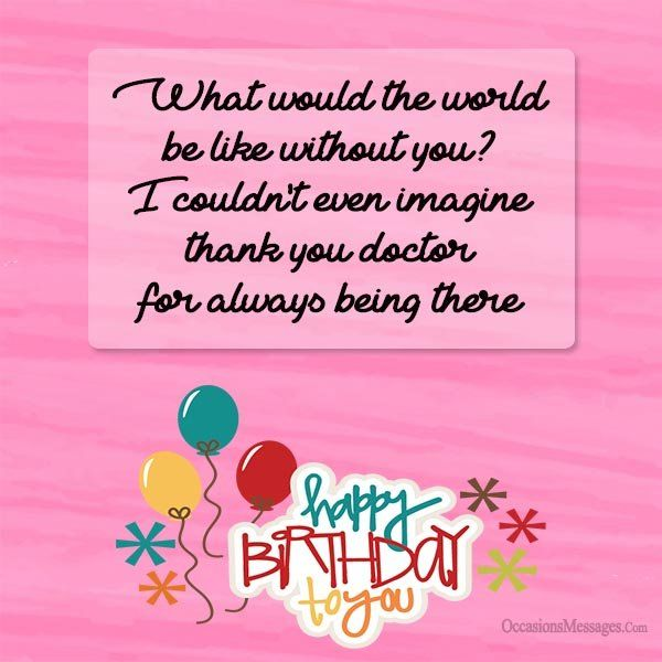 Top 100 Birthday Wishes For Doctors With Images Birthday