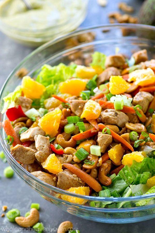 Salad with Chipotle Avocado Dressing | Recipe | Chipotle, Avocado ...