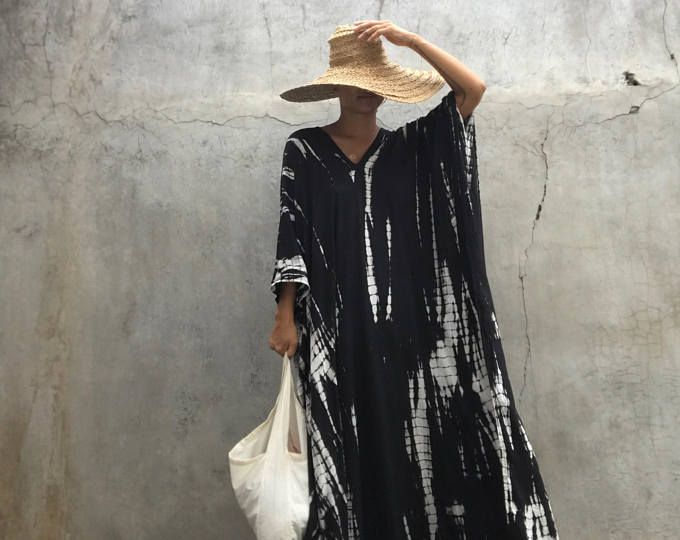 Dyed Very Long Kaftan simple Dress, stylish, Elegant, Miami,lbiza,Holiday Dress,summer party dress,loose fit,Vacation,Sharon dress,