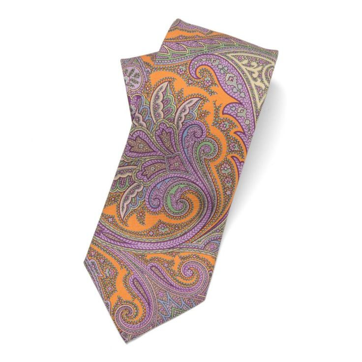 Nothing at all 'ancient' about this bright and brilliant pastel paisley madder.