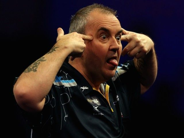 Phil Taylor suffers whitewash defeat to Darren Webster at Grand Slam of Darts