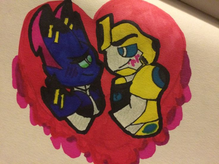 Yes I mess up but this is a test  *Empire X Bee*  Empire belongs to *me* BumbleBee belong to *hasbro studios*