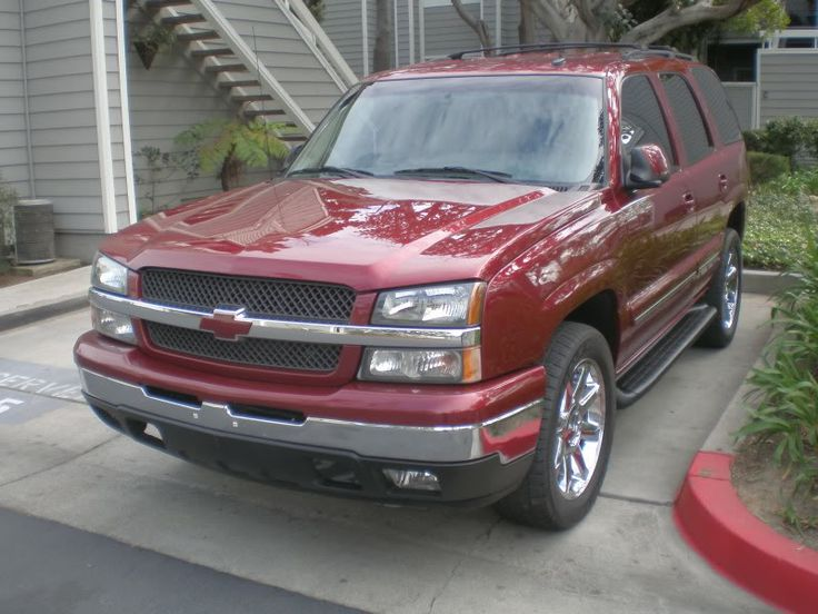 02 Tahoe With Silverado Front Clip Looks Good But Needs