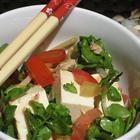 Hawaiian Watercress & Tofu Salad