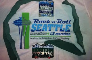 Washington - Rock N Roll Seattle Half Marathon- June 2012