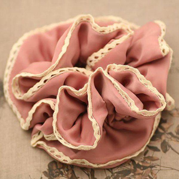 Elegant Lace Embellished Drape Design Wide Elastic Hair Band For Women #women, #men, #hats, #watches, #belts
