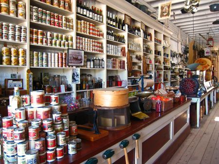 old general store  | ... the store. The photo below shows the interior of Litsch General Store