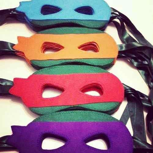 máscara tartaruga ninja