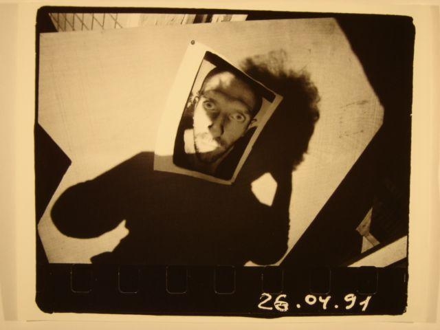 Андрей Чежин из серии «Автопортрет 366 дней», 1990-1991