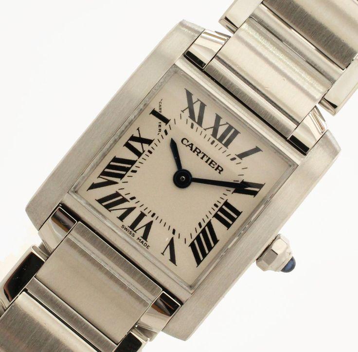 【 #CARTIER #カルティエ #タンクフランセーズSM SS レディース時計】カルティエより人気ライン腕時計『 #タンクフランセーズ 』のレディース用です。画像をクリックして頂きますと、詳細ページをご覧頂けます。 #セブンマルイ質店 TEL06-6314-1005