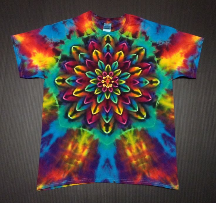 A personal favorite from my Etsy shop https://www.etsy.com/listing/260929406/tie-dye-shirt-tie-dyed-shirt-tiedye