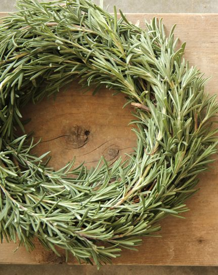 Rosemary wreath...welcome to my country home