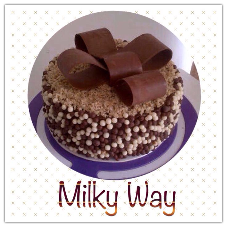 Torta de Milky Way