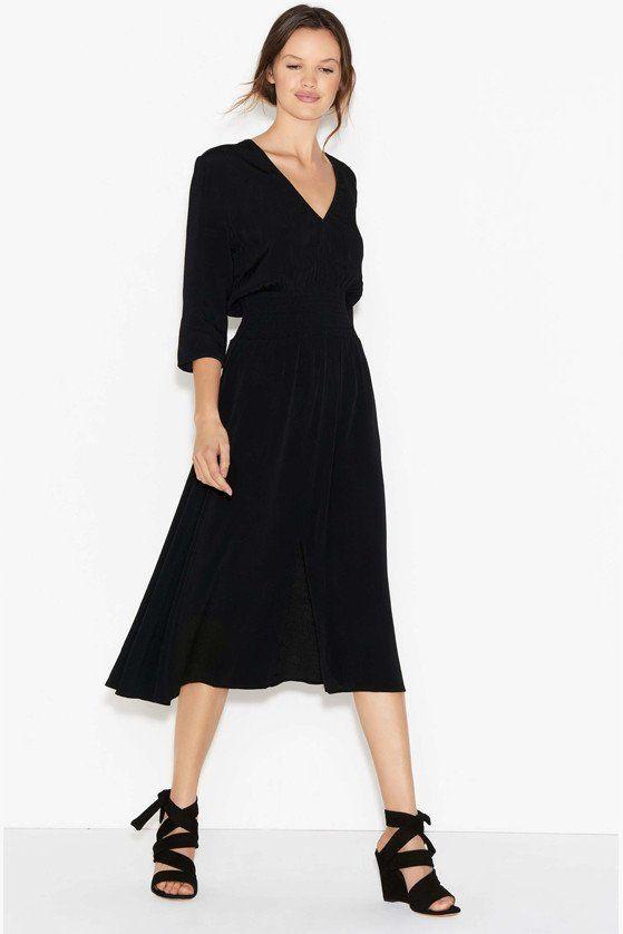 Ba&sh Lucia Noir Dress