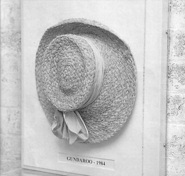The first Helen Kaminakis Hat