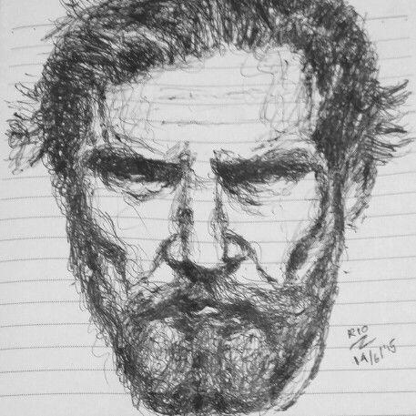 Random sketch by Rio Tan
