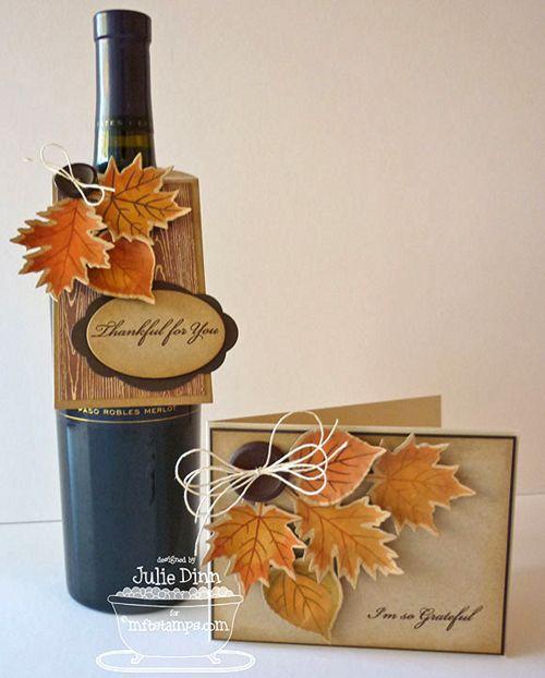 Thankful Leaves, Fall Leaves Die-namics - Julie Dinn