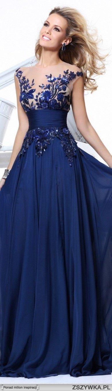If I had a Red Carpet to walk...blue dress