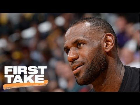 First Take Reacts To LeBron James' Agent Talking To Lakers | First Take | July 19, 2017 - YouTube