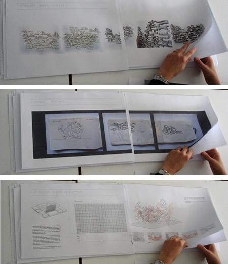 portfolio layout - Architectural Association