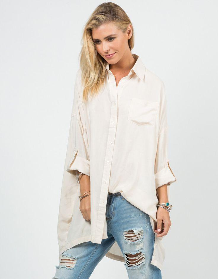 Oversized Button Up Shirt