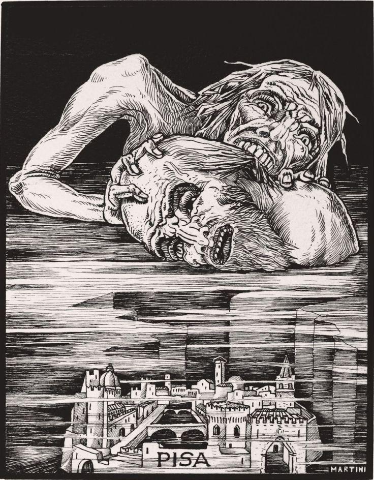 Alberto Martini, Inferno - XXII, 1937.For Dante's Divine ...