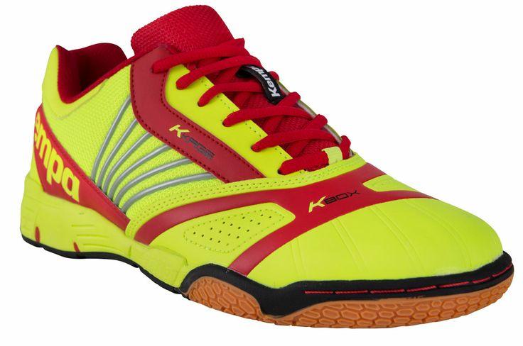 Kempa Handball Tornado yellow / red
