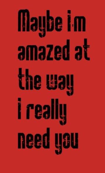 Paul McCartney - Maybe I'm Amazed - Song lyrics, quotes, music
