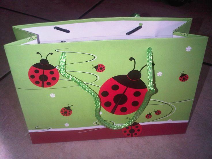 ladybug party bags