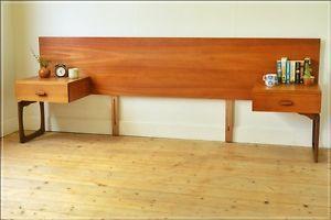 vintage headboard bedside cabinet teak G Plan E Gomme danish UK DELIVERY    eBay