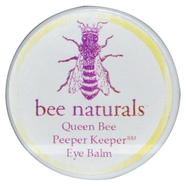 Bee Naturals, Пчелиная матка, бальзам вокруг глаз, 0.6 унции