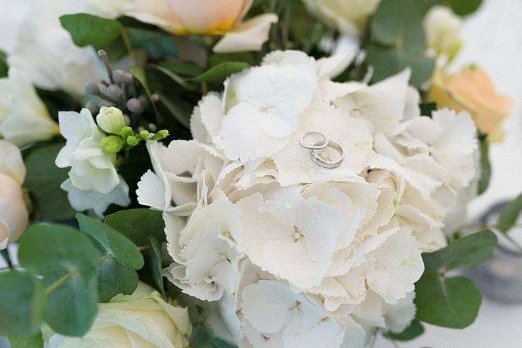 #Wedding #rings #bride #groom #flower