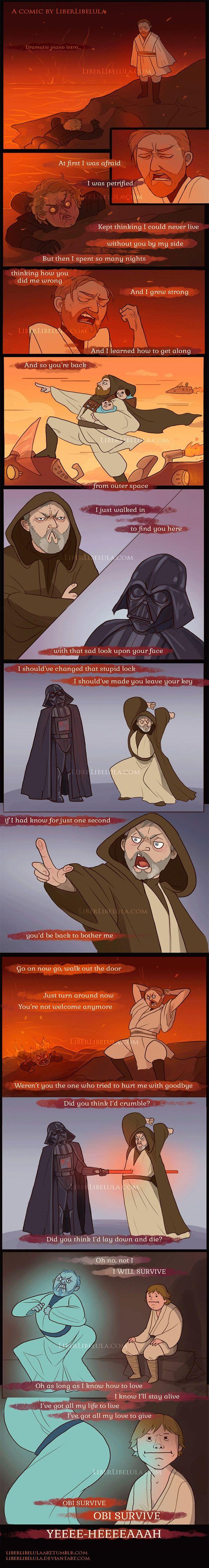 Obi Never Fully Dies, Obi Always Survives (By LiberLibelula)