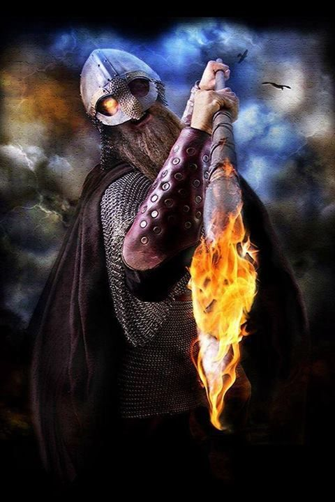 Odin represents the altered state people go to during battle