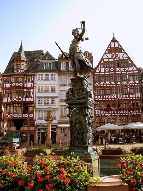Historische Fachwerkhäuser in #Frankfurt