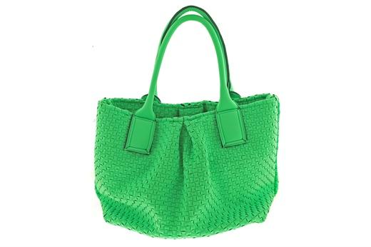 Borsa Leghilà in neoprene intrecciato, lavabile in lavatrice con l'apposito sacchetto. #leghila #bags