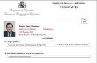The Prime Minister of Spain has captained the biggest lobbyist register of the property, Which has managed to Maintain privileges of the Franco era, unique in Europe. Since 1981, Rajoy Maintains record as the place in Santa Pola, Alicante, Which has About 20 million euros income, According to the complaint Users Association of Registers. Rajoy and the lobby of registers: Billionaire president. Posted by ATLANTIC XII in number 17 (November 2011). By Fernando Romero, a journalist.