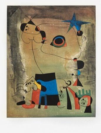 Joan Miró - Le Chien Bleu (The Blue Dog), 1959