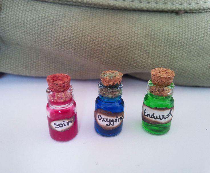 DIY Zelda potions