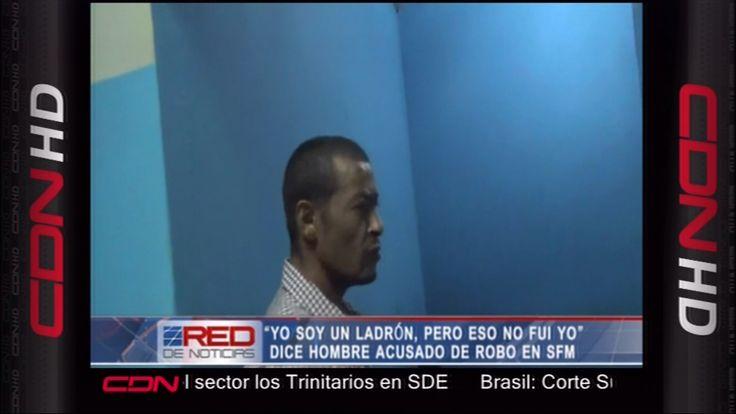 """""""Yo Soy Un Ladrón Pero No Fui Yo"""" Dice Hombre Acusado De Robo En SFM"""