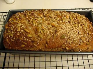How to make your own sprouted grain bread!  Fun recipe to make with kids because baking is Science!